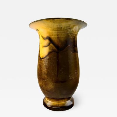 Svend Hammersh i Hammershoj Large K hler Svend Hammersh i Hammershoi glazed large vase in stoneware