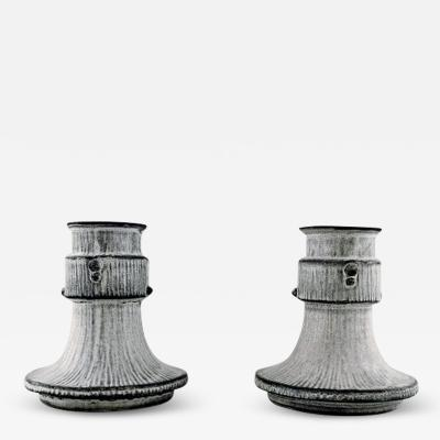 Svend Hammersh i Hammershoj Svend Hammersh i for K hler Denmark A pair of candle holders