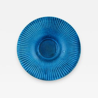 Svend Hammersh i Hammershoj Svend Hammersh i for K hler Denmark Fluted dish in glazed stoneware