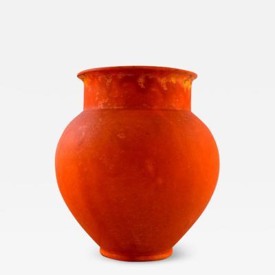 Svend Hammersh i Hammershoj Svend Hammersh i for K hler Denmark Vase in glazed stoneware
