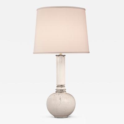 Svend Hammersh i Svend Hammersh i for K hler Danish White and Gray Ceramic Lamp