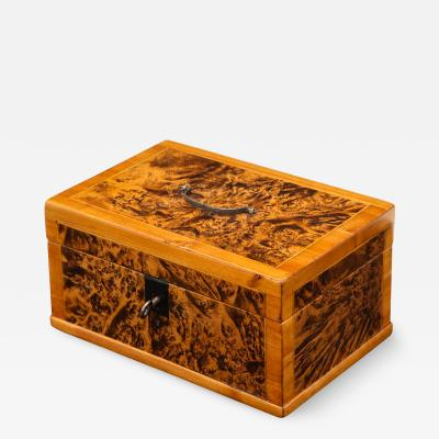 Swedish Alder Root Box Early 19th Century