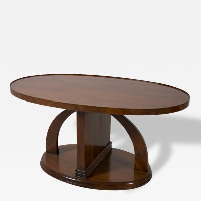 Swedish Art Deco Period Mahogany Coffee Table or Occasional Table circa 1930
