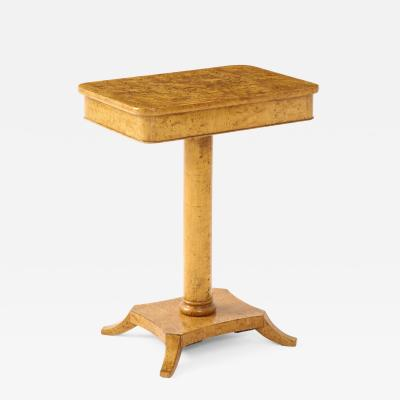 Swedish Birch Root Side Table Mid 19th Century