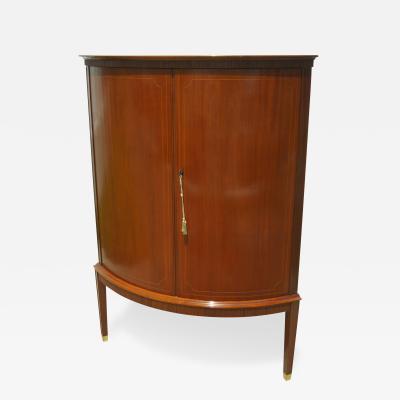 Swedish Cherry Corner Cabinet