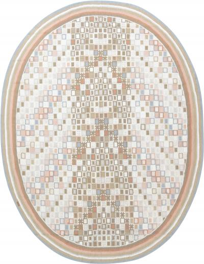 Swedish Circular Design Rug