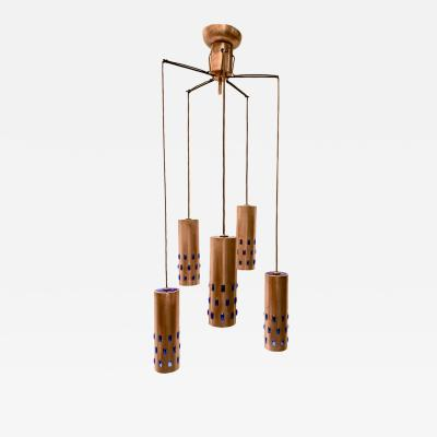 Swedish Copper Pendants Light Fixture