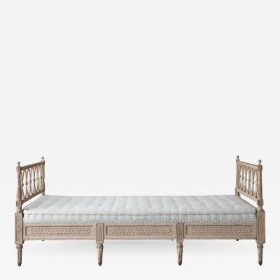 Swedish Daybed Sofa in the Gustavian Style
