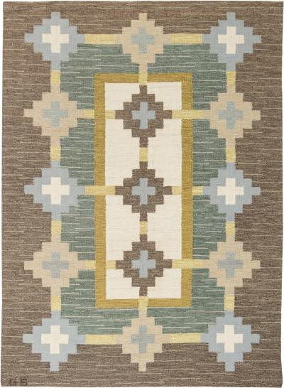 Swedish Flat Weave Rug by GS