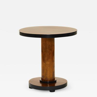 Swedish Functionalist Occasional Table in Birch