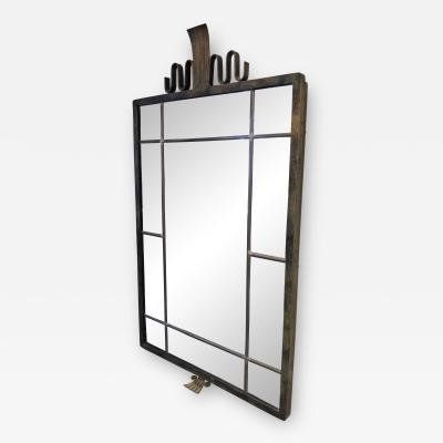 Swedish Grace Period Bronze Mirror