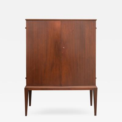 Swedish Mahogany Bar Cabinet