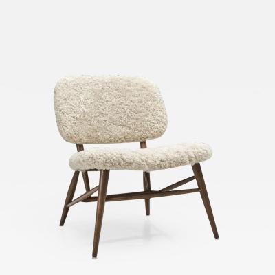Swedish Mid Century Modern Chair by AB Di Sl jd och M bler Sweden 1950s
