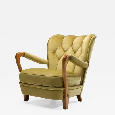 Swedish Modern Armchair Sweden ca 1940s