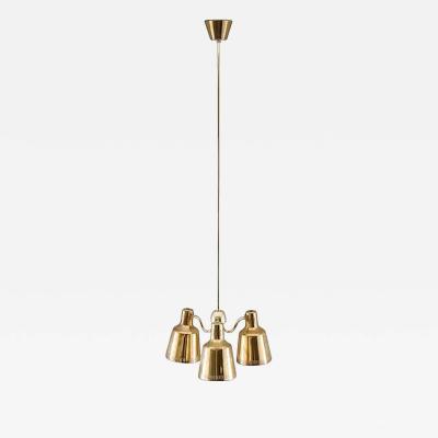 Swedish Modern Pendant in Brass