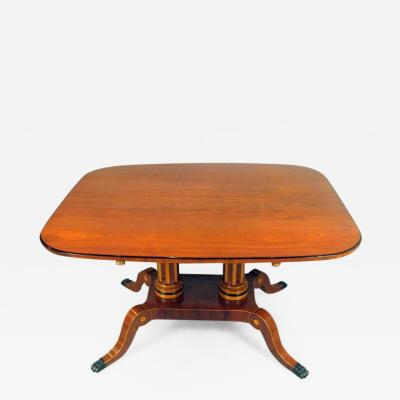 Swedish Neoclassical Style Mahogany Breakfast Table