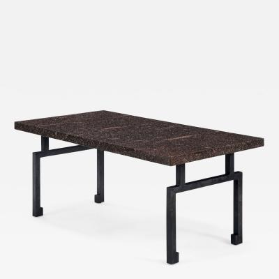 Swedish Porphyry Table Top Now a Coffee Table