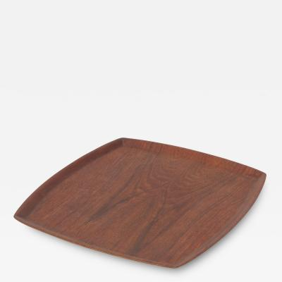 Swedish Serving Tray Teak 60s