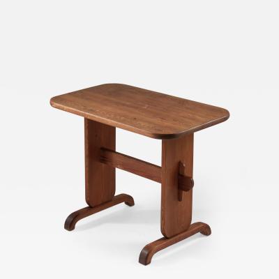 Swedish Side Table in Pine by Bo Fj stad 1930s