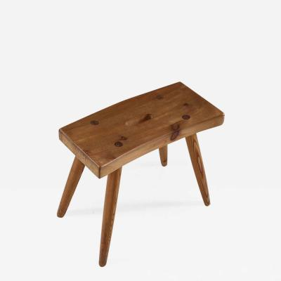 Swedish Stool in Pine 1940s