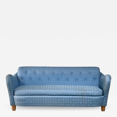 Swedish blue sofa 1930s