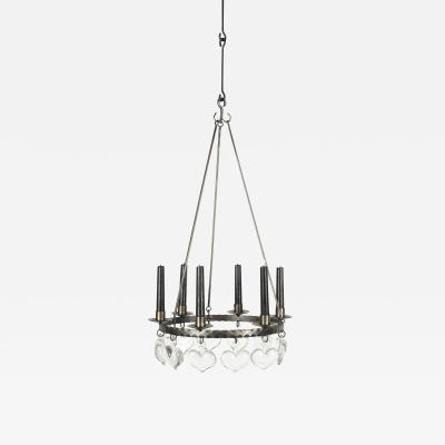 Swedish chandelier 60s