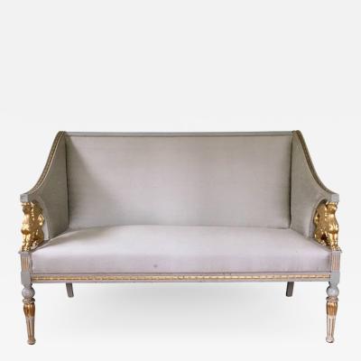 Swedish late Gustavian Neoclassic style Salon Suite
