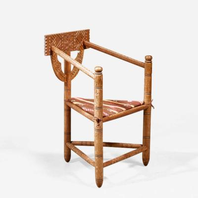 Swedish monk chair circa 1900