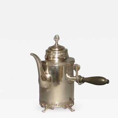 Swedish silver pot