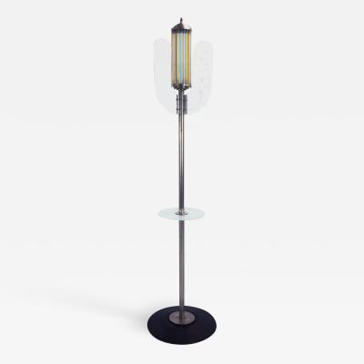 Swiss Art Deco Floor Lamp