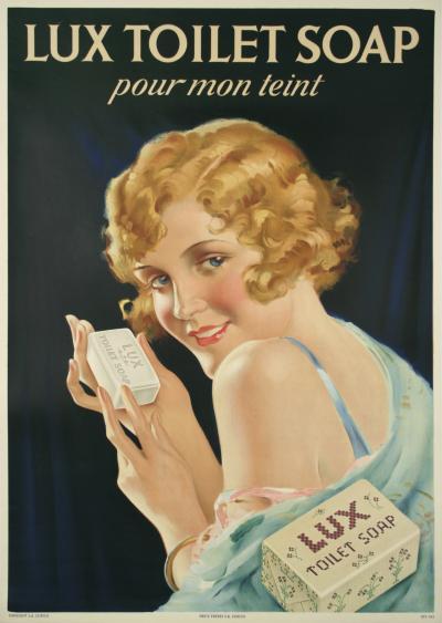 Swiss Art Deco Period Soap Poster 1930