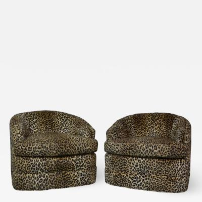 Swivel Tub Chairs by Henredon