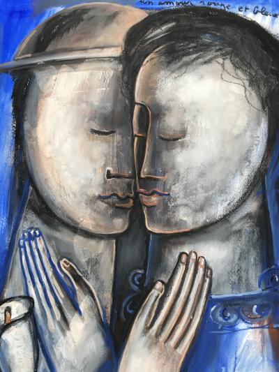 Sylvain Legrand Un Amour Rouge et Bleu