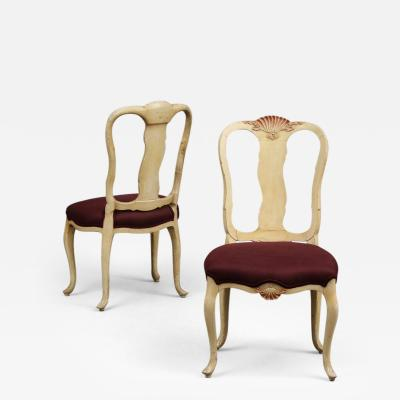 Syrie Maugham Pair of Chairs by Syrie Maugham