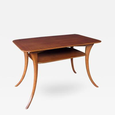 T H Robsjohn Gibbings A Widdicomb Rectangular Walnut Side Table Designed by Gibbings