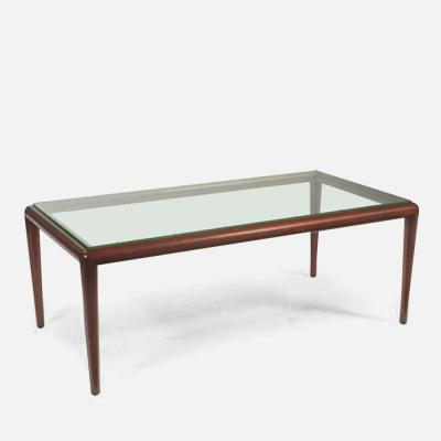 T H Robsjohn Gibbings Glass Top Coffee Table by T H Robsjohn Gibbings for Widdicomb