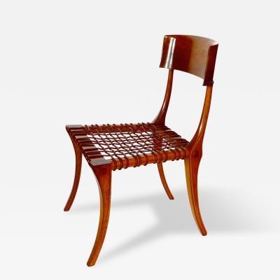 T H Robsjohn Gibbings Klismos Chair Designed by T H Robsjohn Gibbings 1961 Saridis of Athens
