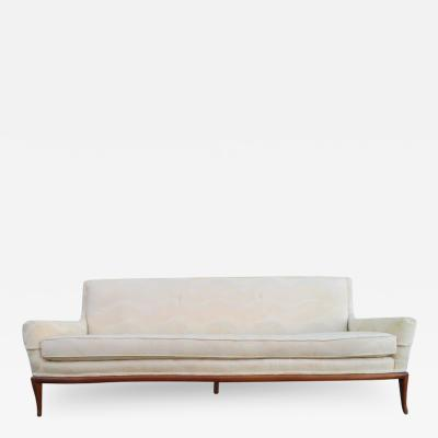 T H Robsjohn Gibbings Lovely Robsjohn Gibbings Walnut Sofa