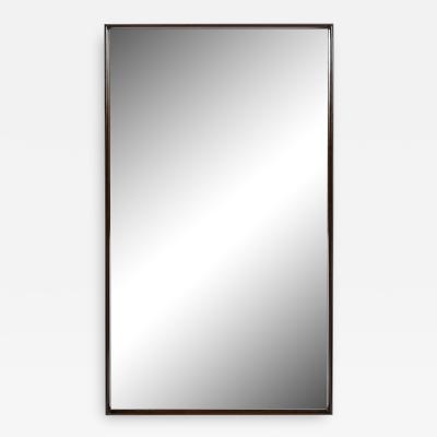 T H Robsjohn Gibbings Midcentury Handrubbed Walnut Mirror by T H Robsjohn Gibbings for Widdicomb Co