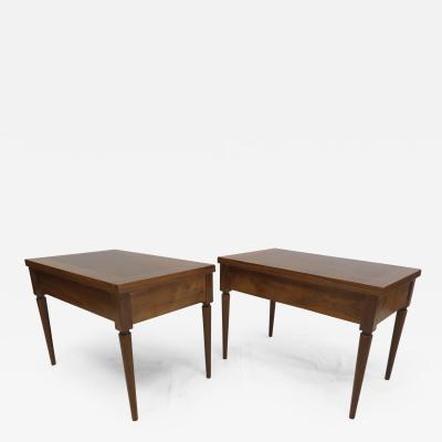 T H Robsjohn Gibbings Pair Robsjohn Gibbings Side Table