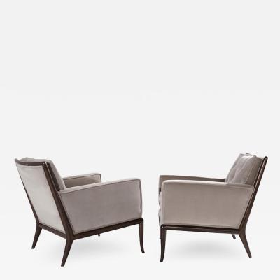 T H Robsjohn Gibbings Pair of Club Chairs by T H Robsjohn Gibbings for Widdicomb 1950s