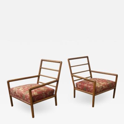 T H Robsjohn Gibbings Pair of Robsjohn Gibbings for Widdicomb Lounge Chairs