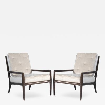 T H Robsjohn Gibbings Pair of T H Robsjohn Gibbings for Widdicomb Lounge Chairs