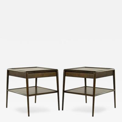 T H Robsjohn Gibbings Pair of T H Robsjohn Gibbings for Widdincomb End Tables