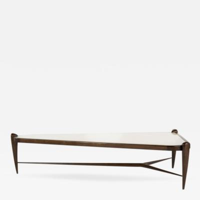 T H Robsjohn Gibbings Sculptural Large Scale Coffee Table in the Style of T H Robsjohn Gibbings