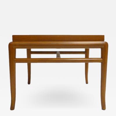 T H Robsjohn Gibbings Sleek T H Robsjohn Gibbings for Widdicomb Walnut Side Occasional Table