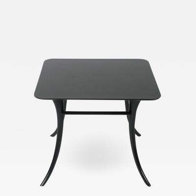 T H Robsjohn Gibbings T H ROBSJOHN GIBBINGS END TABLE WITH SPLAYED LEGS