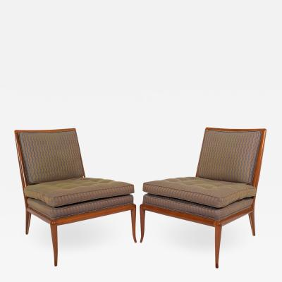 T H Robsjohn Gibbings T H Rabjohn Gibbings slipper chairs for Widdicomb Furniture Co
