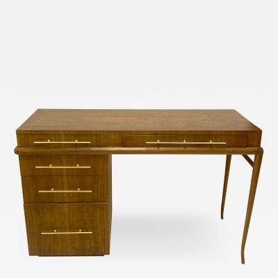 T H Robsjohn Gibbings T H Robsjohn Gibbings Custom Desk for Kandell Residence
