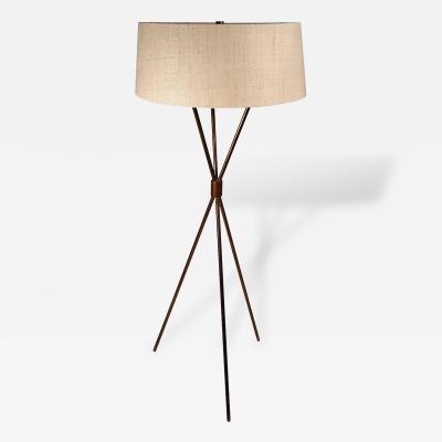 T H Robsjohn Gibbings T H Robsjohn Gibbings Tripod Floor Lamp for Hansen